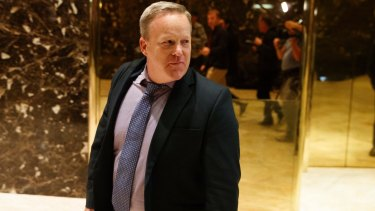Spicer is new to Americans and the world. But to Washingtonians, he's like an old pair of slippers.