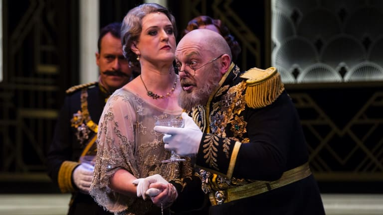 The Merry Widow will feature a well-timed interval planned to allow opera-lovers to watch the fireworks.