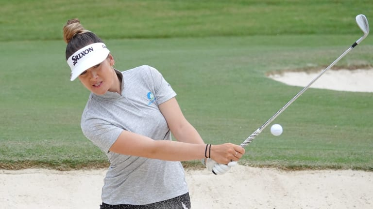 Ambitious: Green competed in the WA Open against men last year.