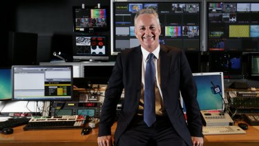 Nine Entertainment chief executive Hugh Marks.