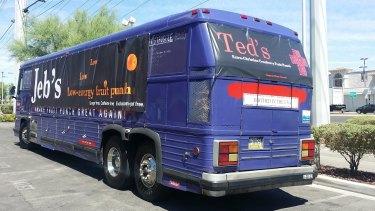 The T.Rump bus.