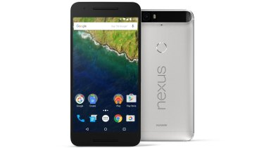Huawei's Nexus 6P has an all metal case and is slightly larger than an iPhone 6 Plus.