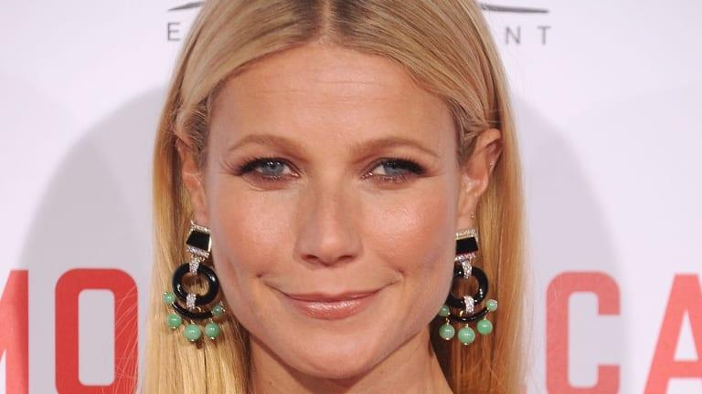 Fan of the v-clean: Gwyneth Paltrow.