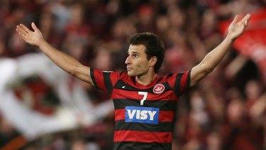 Bench player: Wanderers forward Labinot Haliti.