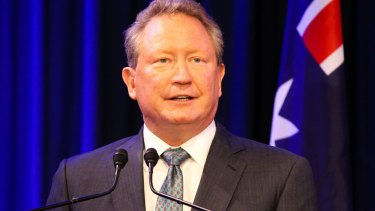 "Stinging attack: Andrew Forrest describes the ARU's process to cut the Western Force a ""charade""."