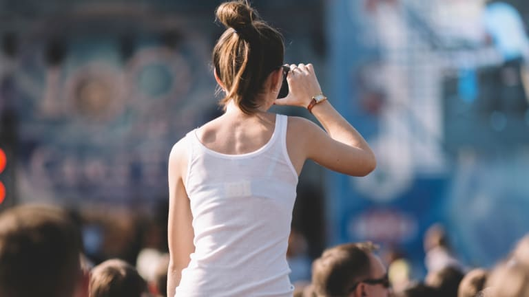 Music festivals are, overwhelmingly, not female-friendly places.