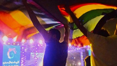The rainbow flag demonstration at a concert in Cairo has prompted a vicious crackdown.