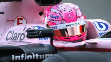 Force India's Esteban Ocon buries hatchet with teammate