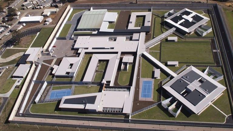 Aerial View of Cessnock Correctional Centre.