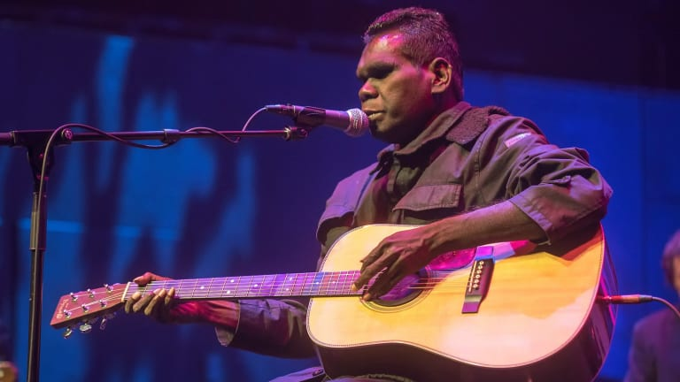 Gurrumul was named artist of the year for the first consecutive time at the NIMAs.