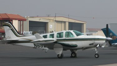 A Beechcraft Bonanza A36 similar to this one crash landed at Mackay Airport.