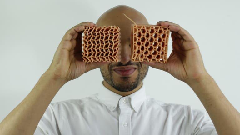 MRelay participant Oluwaseyi Sosanya is a 3D weaver.