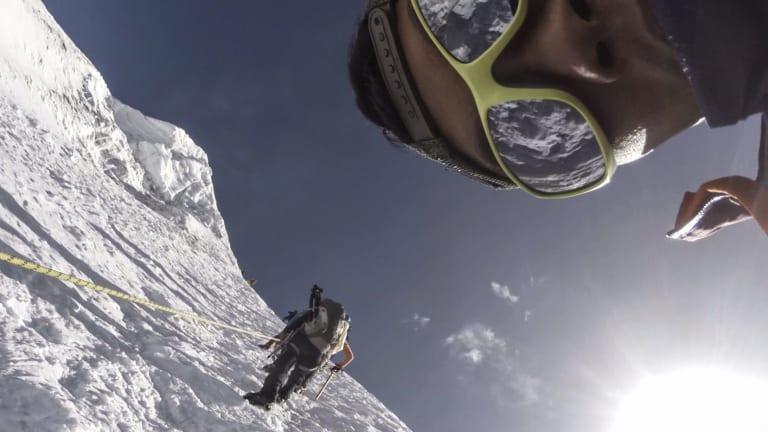 Sherpas training in