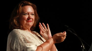 Gina Rinehart has said she is happy to proceed with the deal alone if not approved by FIRB.