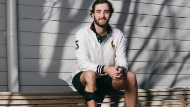 Paddy O'Brien was in Year 11 when he was diagnosed with cancer.