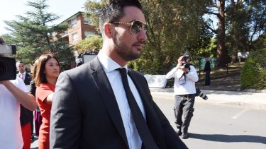 Auburn deputy mayor Salim Mehajer was questioned about mystery payments to a pool company.