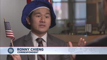 Ronny Chieng, now a correspondent on <i>The Daily Show</i> in the US, will star in <i>Ronny Chieng: International Student</i> on ABC television next year.