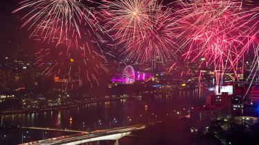 Off with a bang - Riverfire.
