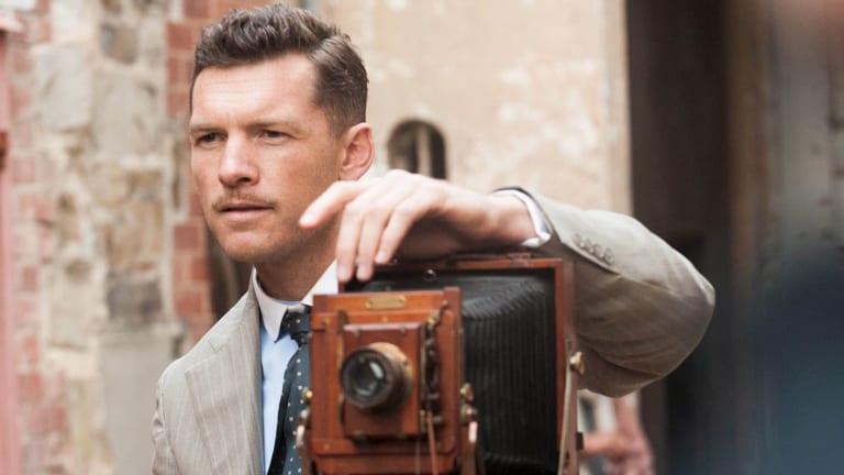 Sam Worthington as war correspondent Phillip Schuler in <i>Deadline Gallipoli</i>.