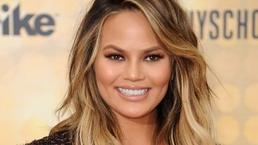 Chrissy Teigen is renowned for experimenting with a fringe.