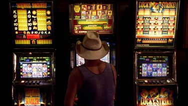 Australians gamble away more than 11 billlion a year on pokies.