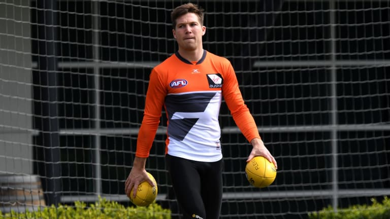 Defiant: GWS forward Toby Greene has vowed to maintain his natural game, despite a growing negative reputation.