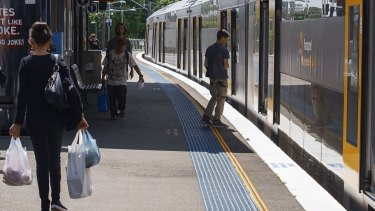 The gap between trains and station platforms can be a significant danger for children.