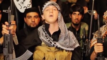 """""""Gone fishing"""": Abdullah Elmir, 17, from Bankstown who left Australia to fight with Islamist fanatics."""