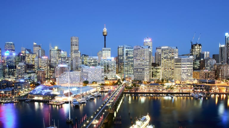 Sydney is Australia's hottest capital city economy.