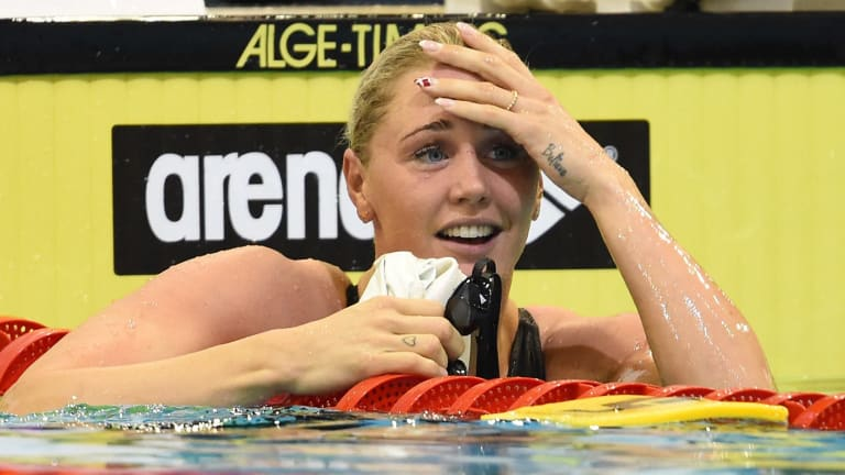 Jeanette Ottesen of Denmark won the 100m freestyle at the 2011 World Championships.