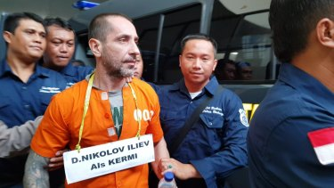 Bali prison escapees Dimitar Iliev was recaptured in East Timor just days after the escape.