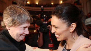 NZ's last Labour PM Helen Clark with Ardern – the next?