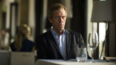Hugh Laurie plays British arms dealer Richard Roper in The Night Manager.