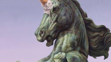 Detail from <i>Unicornetto</i>