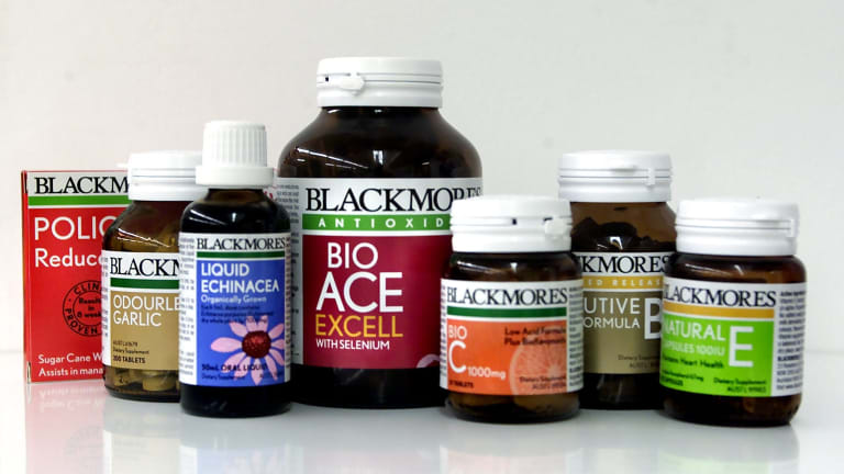 Blackmores produces a range of vitamins, minerals and nutritional supplements.
