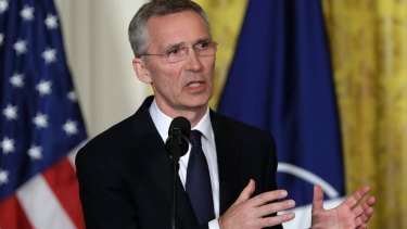 NATO Secretary General Jens Stoltenberg.