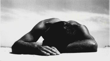 Max Dupain's 1937 photograph, <i>Sunbaker</i> became an iconic image of the carefree Australian lifestyle, although the artist probably had different intentions.