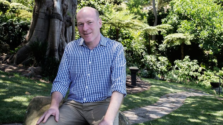 Trent Zimmerman the new member for North Sydney after winning the seat vacated by former treasurer Joe Hockey.