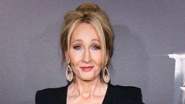 Fantastic Beasts and Where to Find Them author J. K. Rowling.