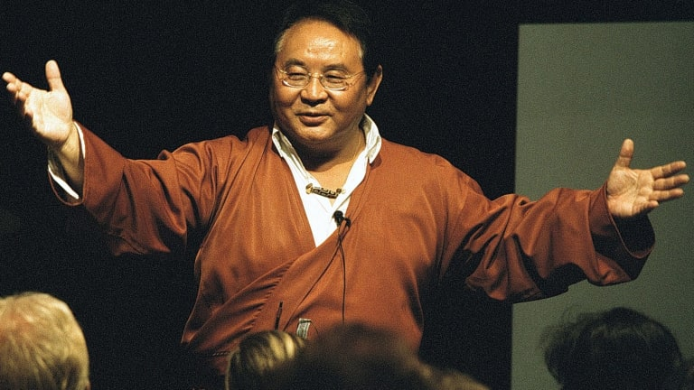 Sogyal Rinpoche became a Buddhist superstar after the release of his book, which has sold more than 3 million copies worldwide.