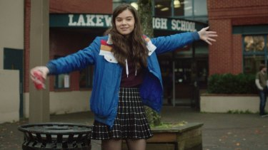 Fever-pitch performance: Hailee Steinfeld as Nadine in <i>The Edge of Seventeen</i>.