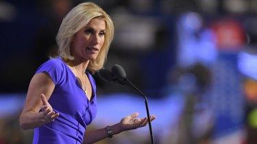 War of words: Conservative political commentator Laura Ingraham.