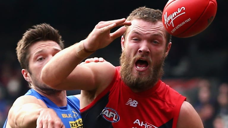 Ready to pounce: Max Gawn has the potential to be an outstanding leader and player at the Melbourne football club, says Jeff White.