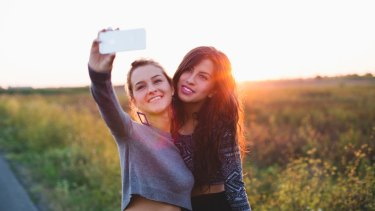 Over 94 per cent of Australian teenagers own a smart phone.