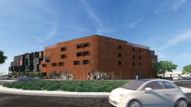 An artists impression of the proposal for the Williamstown RSL site.