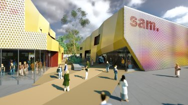 MvS Architects' proposal for SAM.