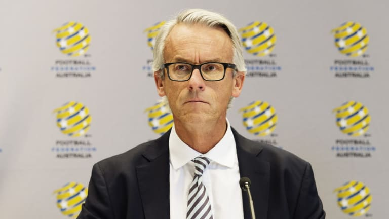 Big decision: Football Federation Australia CEO David Gallop.