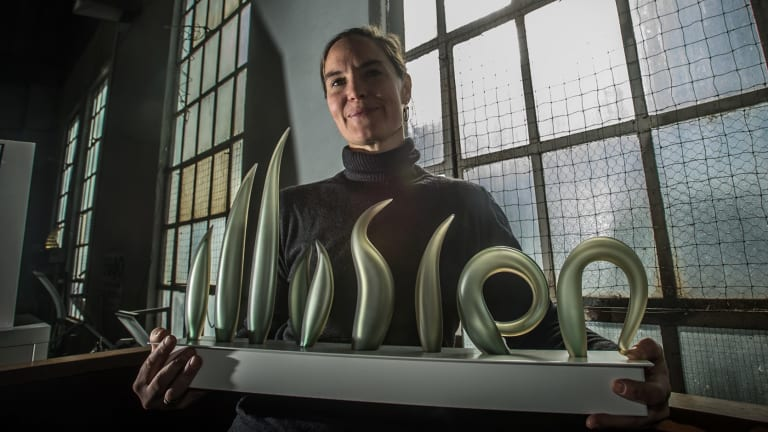 Quenabeyan glass artist Harriet Schwarzrock is the inaugural fellow of the Art Group Creative Fellowship launched at the Kingston Glassworks.