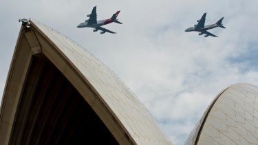 Only 18 months ago Qantas and Emirates showcased two A380s flying over Sydney - but the era of the superjumbo may be short-lived.