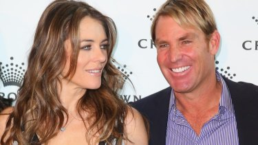 Shane Warne opened up about how uncomfortable it was that Hugh Grant would spend so much time with his ex-fiancee, Elizabeth Hurley.